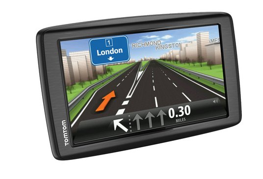 TomTom navigatiesysteem met extra groot touchscherm