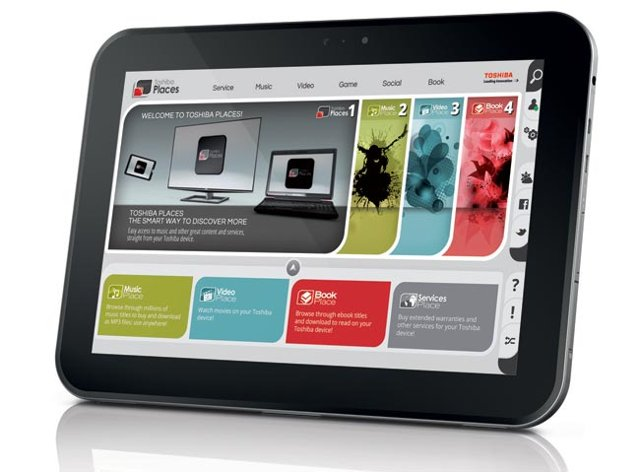 10-inch tablet met Android 4.0 van Toshiba