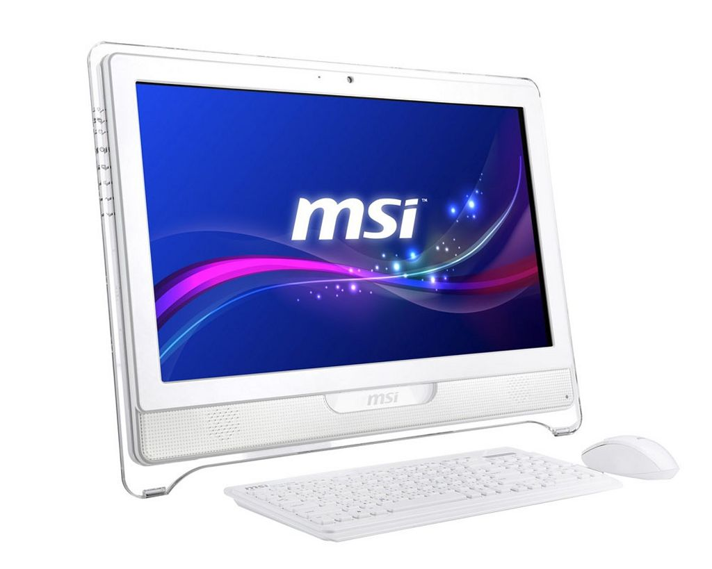 All-in-one desktop-pc met multitouch Full HD beeldscherm