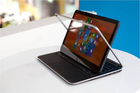 Supersnelle converteerbare Ultrabook met Windows 8