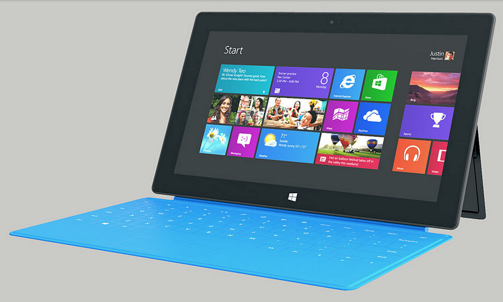Is Microsofts Surface alternatief voor Apple&#8217;s iPad?
