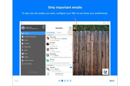 InboxZero uitleg over filter